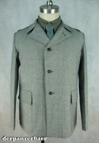 Feldjacke M35, Salt & Pepper, Cotton